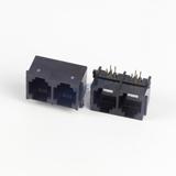 RJ11 1X2, PCB SOCKET, 6P4C, RIGHT ANGLE