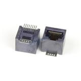 RJ45 SMT/SMD Vertical Modular Jack Connector, 8-PIN