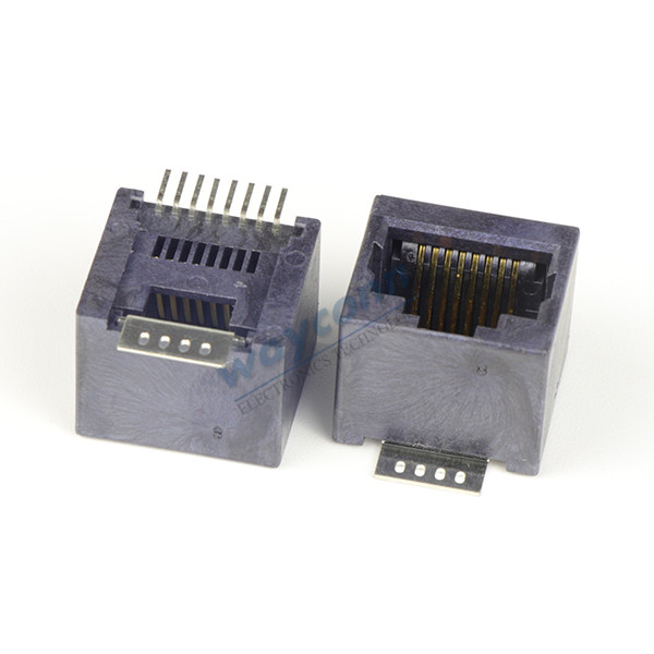 Shielded Vertical RJ45 SMT Modular Jack, 8P8C