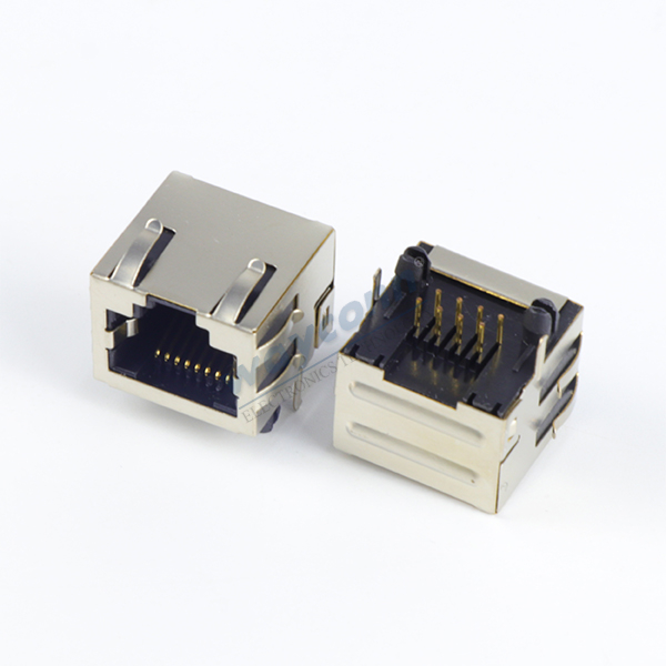 Shielded RJ45 w/ EMI, 90° Angle