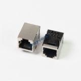 Shielded 6P6C RJ11 PCB Mount Modular Telephone Socket
