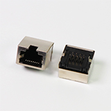Shielded 8P8C Ultra-Low Profile RJ45 Connector
