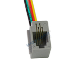 616E 4P4C Handset Wired Modular Jack