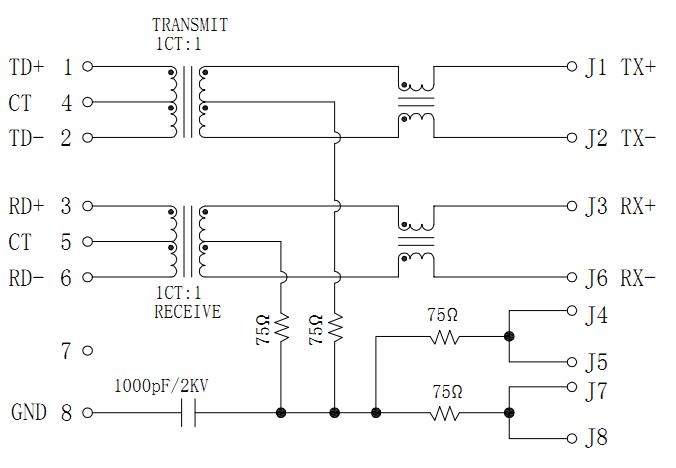 MJT21-M40021123XX Magnetic Schematics