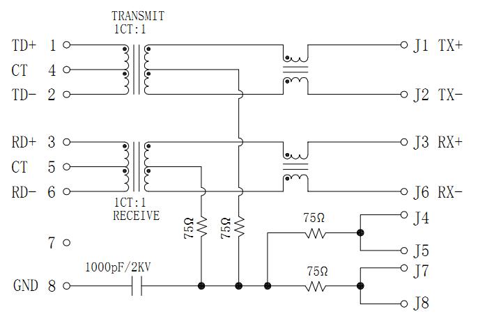 MJT21-M40021113XX Magnetic Schematics