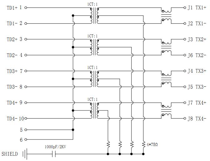 MJT52-MJT21-G80701113XX Schematics