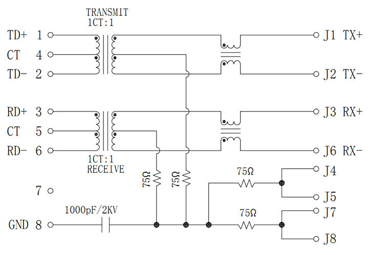 MJT59-B4015010XX 4 Magnetic Rings