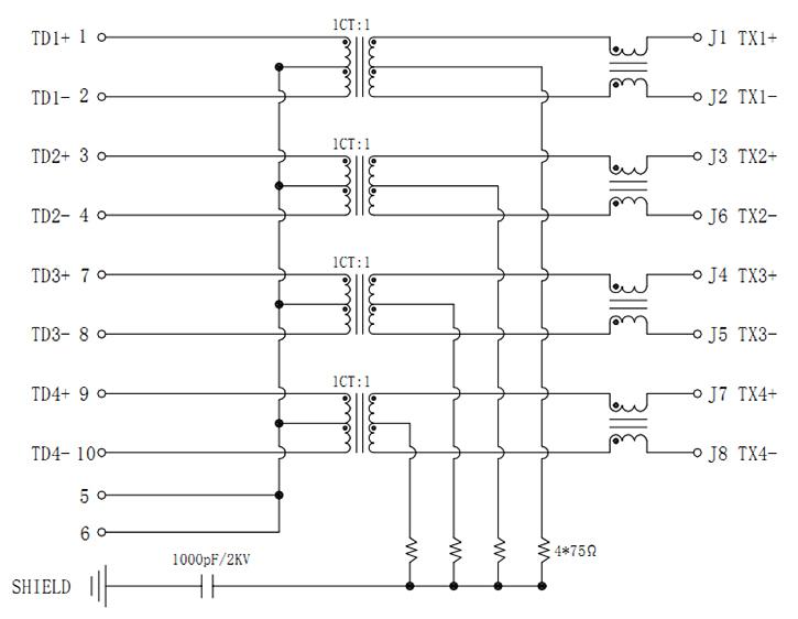 MJT59-G8202215XX Magnetic Schematics