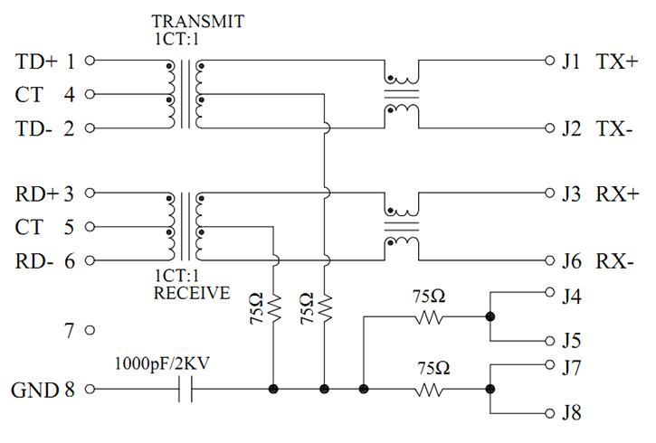 MJT59-B4138112XX Magnetics Schematics