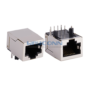 RJ45 with Integrated Transformer Ethernet Connector