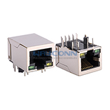 RJ45 Magnetic Jack 1000Base-T ICM Connector