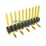 Single Row Straight 1.00mm SMT PIN Header, w/ CAP