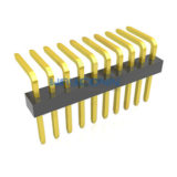Single Row Right Angle 1.00mm PIN Header, Thru-Hole