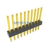 Single Row Straight 1mm PIN Header, Thru-Hole