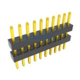 Single Row Straight 1.00mm Elevated PIN Header Connector
