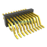 Right Angle Dual Row 1mm SMT PIN Header