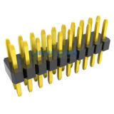 Dual Row Straight 1mm Pitch PIN Header, Thru-Hole