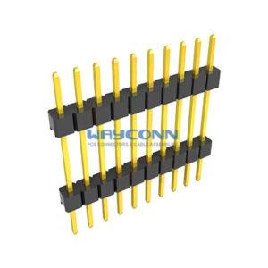 Single Row 1.27mm Board Spacer Pin Header