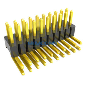 1.27mm 2 Row R/A Thru-Hole Pin Header