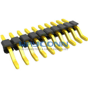 2mm Pitch Single Row Right Angle SMT Pin Header (Male) - PH200-1M04