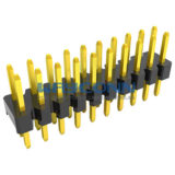 2mm Pitch Dual Row Vertical Pin Header (Male)