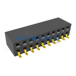 Dual Row Side Entry SMT/SMD 2.54mm Pitch Female Header