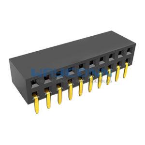 Dual Row Side Entry Thru-Hole 2.54mm Pitch Socket