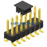 Dual Row 2.54mm Pitch SMT/SMD Pin Header, Vertical Mount