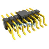 Dual Row Right Angle 2.54mm Pitch SMT/SMD Pin Header