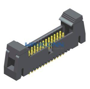 SMT Type 1.27mm Latch/Ejector Header, Vertical Mount