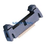 1.27mm Pitch Latch/Ejector Header, Vertical, Thru-Hole