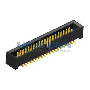 SMT 1.27mm Box Header, Vertical, Profile: 5.3mm