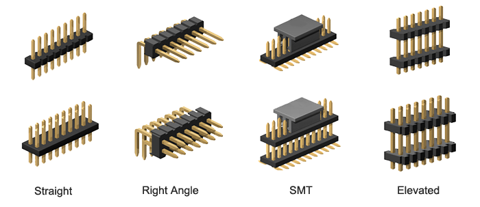 1.27mm Pitch Pin Header Connector