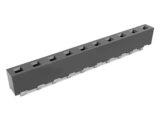 Vertical Through 5.08mm Pitch Header Socket, H: 6.35mm
