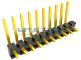 Single Row Right Angle 3.96mm Pin Header