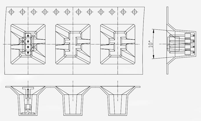 Tape & Reel Cavity for 1.27mm Pin Headers