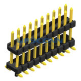 Dual Row Vertical Elevated 2mm SMT Pin Header
