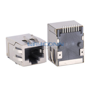 Surface Mount RJ45 with Magnetics, 100Base-T